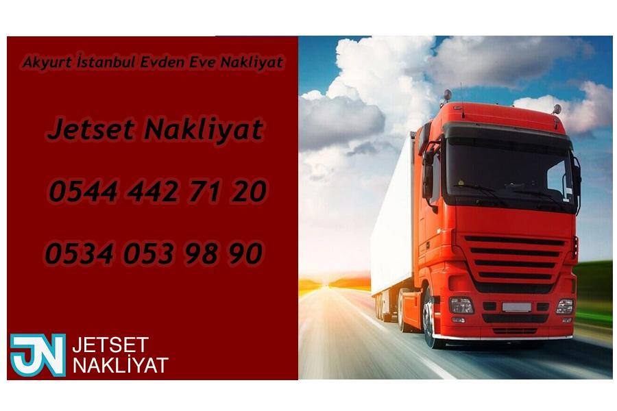 Akyurt Evden Eve Nakliyat İstanbul